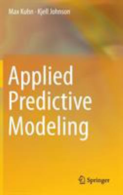 Cover image for Applied predictive modeling