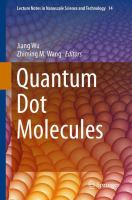 Cover image for Quantum dot molecules