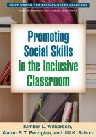 Cover image for Promoting social skills in the inclusive classroom