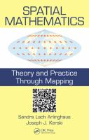 Cover image for Spatial mathematics : theory and practice through mapping