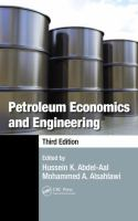Cover image for Petroleum economics and engineering