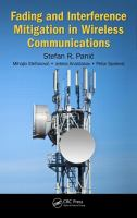 Cover image for Fading and interference mitigation in wireless communications