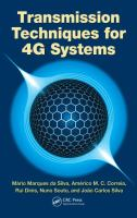 Cover image for Transmission techniques for 4G systems