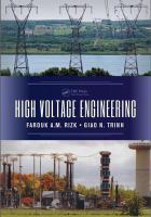 Cover image for High voltage engineering