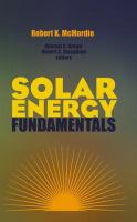 Cover image for Solar energy fundamentals