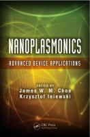 Cover image for Nanoplasmonics : advanced device applications