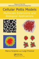 Cover image for Cellular potts models : multiscale extensions and biological applications