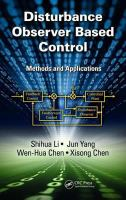 Cover image for Disturbance observer-based control : methods and applications