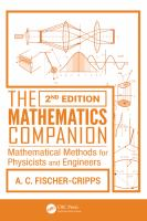 Cover image for Mathematics companion : mathematical methods for physicists and engineers