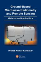 Cover image for Ground-based microwave radiometry and remote sensing : methods and applications