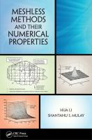 Cover image for Meshless methods and their numerical properties