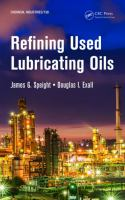 Cover image for Refining used lubricating oils
