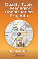 Cover image for Quality tools for managing construction projects