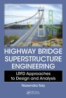 Cover image for Highway bridge superstructure engineering : LRFD approaches to design and analysis