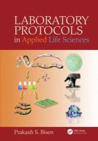 Cover image for Laboratory protocols in applied life sciences