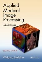 Cover image for Applied medical image processing [electronics resource] : a basic course