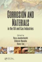 Cover image for Corrosion and materials in the oil and gas industries