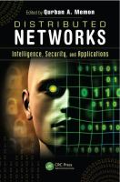Cover image for Distributed networks : intelligence, security, and applications