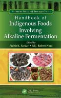 Cover image for Handbook of indigenous foods involving alkaline fermentation