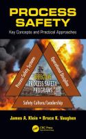 Cover image for Process Safety : Key Concepts and Practical Approaches