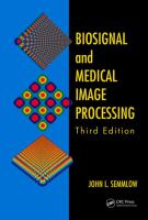 Cover image for Biosignal and medical image processing