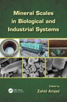 Cover image for Mineral scales in biological and industrial systems