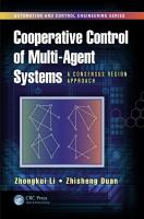 Cover image for Cooperative control of multi-agent systems : a consensus region approach