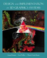 Cover image for Design and implementation of 3D graphics systems