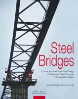 Cover image for Steel bridges : conceptual and structural design of steel and steel-concrete composite bridges