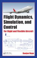 Cover image for Flight dynamics, simulation, and control : for rigid and flexible aircraft