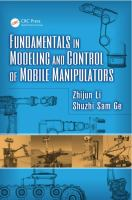 Cover image for Fundamentals in modeling and control of mobile manipulators