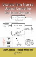 Cover image for Discrete-time inverse optimal control for nonlinear systems