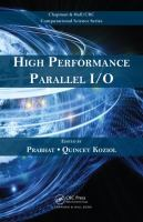Cover image for High performance parallel I/O