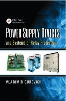 Cover image for Power supply devices and systems of relay protection