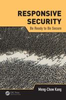 Cover image for Responsive security  : be ready to be secure