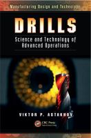 Cover image for Drills : science and technology of advanced operations