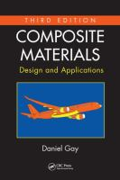 Cover image for Composite materials : design and applications