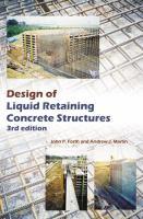 Cover image for Design of liquid retaining concrete structures