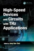 Cover image for High-speed devices and circuits with THz applications