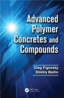 Cover image for Advanced polymer concretes and compounds