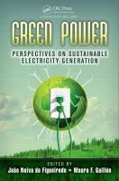 Cover image for Green power : perspectives on sustainable electricity generation