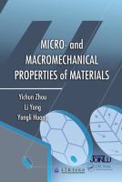 Cover image for Micro- and macromechanical properties of materials
