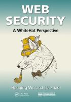 Cover image for Web security : a WhiteHat perspective