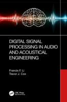 Cover image for Digital Signal Processing in Audio and Acoustical Engineering