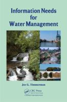 Cover image for Information needs for water management