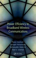 Cover image for Power efficiency in broadband wireless communications