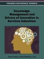 Cover image for Knowledge management and drivers of innovation in services industries
