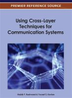 Cover image for Using cross-layer techniques for communication systems