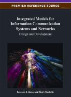 Cover image for Integrated models for information communication systems and networks : design and development