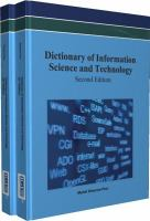 Cover image for Dictionary of information science and technology